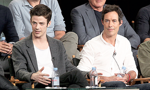 The Heroes and Villains of Arrow and The Flash Panel