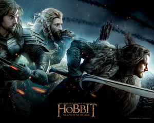 The Hobbit: The Battle of the Five Armies - karatasi la kupamba ukuta