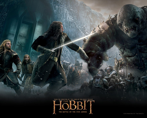The Hobbit wallpaper containing a fountain entitled The Hobbit: The Battle of the Five Armies - Wallpaper