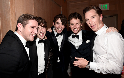 Benedict Cumberbatch wallpaper entitled The Imitation Game Cast - After Party