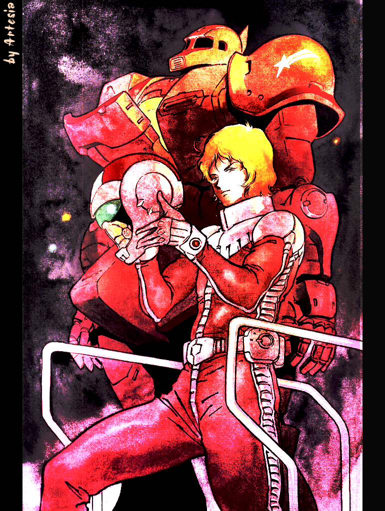 Char Aznable Wallpaper