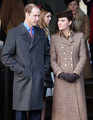 The Royal Family Attend Church On Christmas Day - prince-william photo