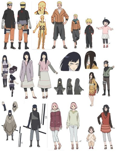 naruto shippuden wallpaper titled The last Character design