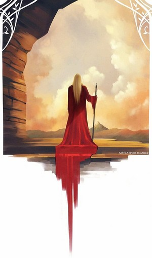 Thranduil in Red