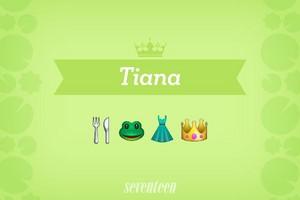 Tiana Emojis