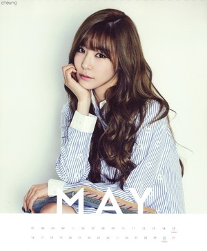 Tiffany (SNSD) - 2015 Calendar