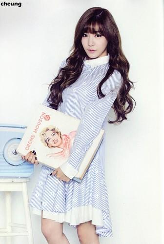 Tiffany Hwang fondo de pantalla entitled Tiffany (SNSD) - 2015 Calendar