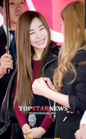Tiffany at LG U 's launch for iPhone 6