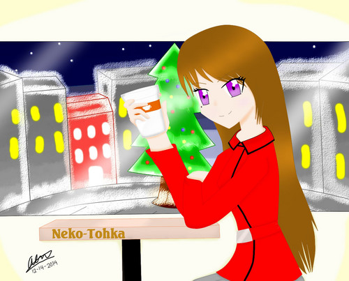 Alinah_09 Hintergrund called To: Tohka-chan!