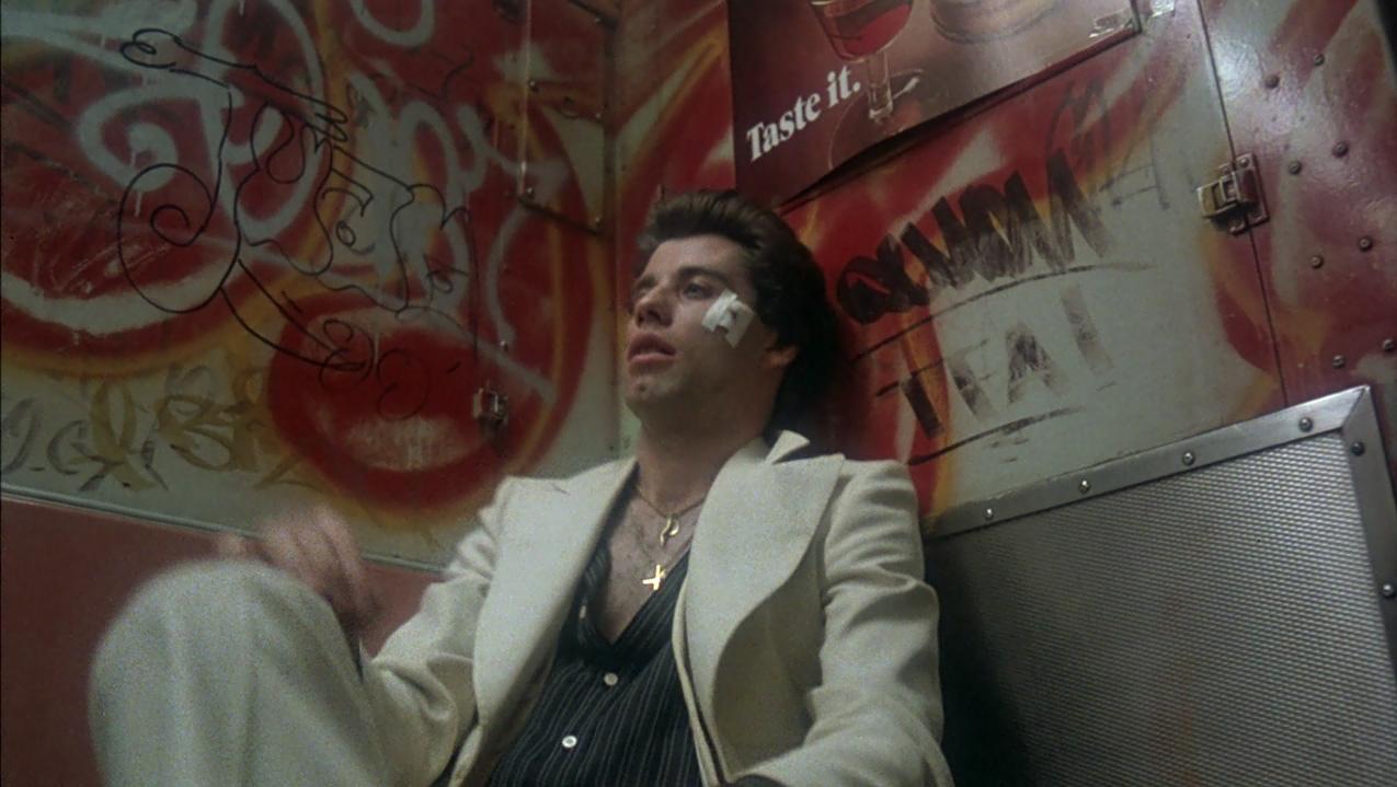 Tony in the subway