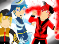 Trio Boboiboy ... Boboiboy kuasa tiga!!!  (Gempa, Taufan, Halilintar) - boboiboy fan art