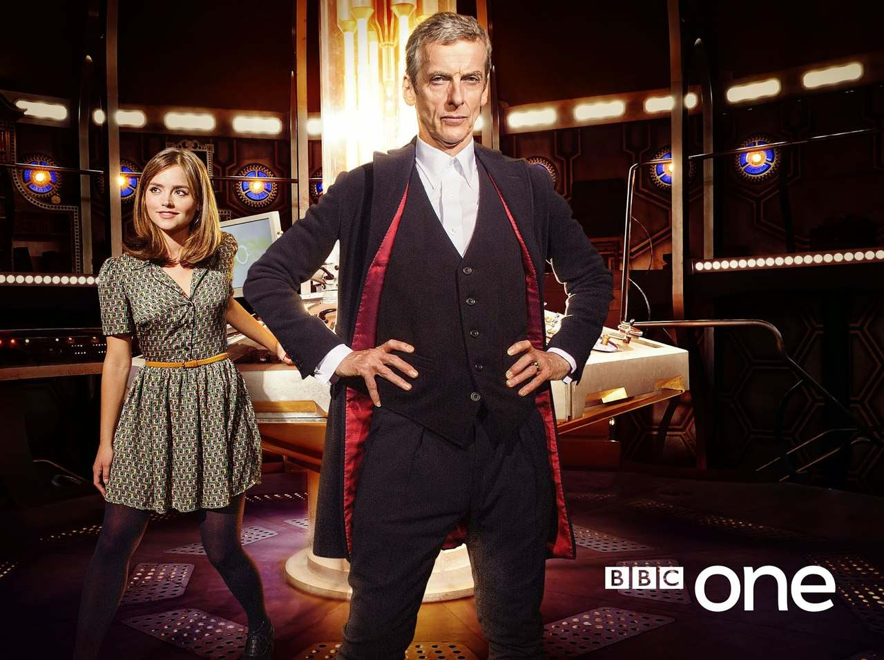 Twelve And Clara The Twelfth Doctor Fondo De Pantalla