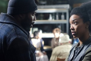 Tyreese and Sasha