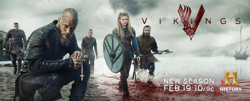 Vikings (TV Series) karatasi la kupamba ukuta titled Vikings Season 3 official picture