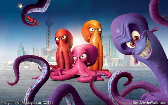 Villainous and disgruntled octopus Dave