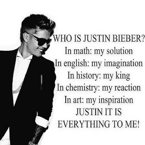 WHO ACTUALLY IS JUSTIN TO ME??