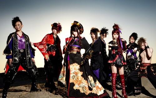 Wagakki Band achtergrond entitled Wagakki Band