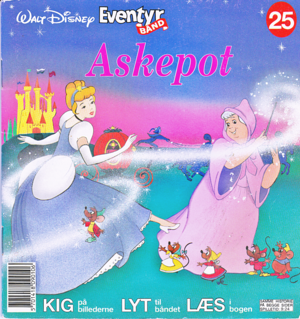 Walt disney Book Covers - cenicienta