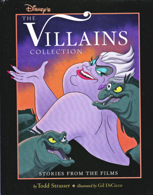 Walt disney Book Covers - disney Villains: The Villains Collection