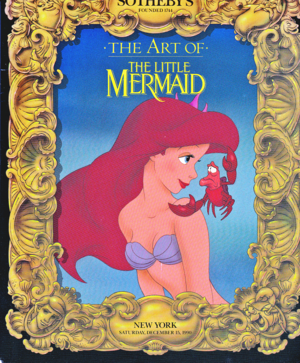 Walt Disney Book Covers - The Art of the Little Mermaid