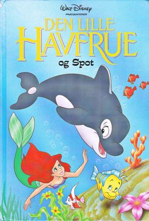 Walt Disney Book Covers - The Little Mermaid & Spot