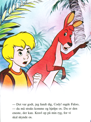 Walt disney Book gambar - Cody & Faloo
