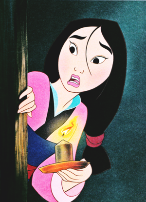 Walt Disney Book تصاویر - Fa Mulan