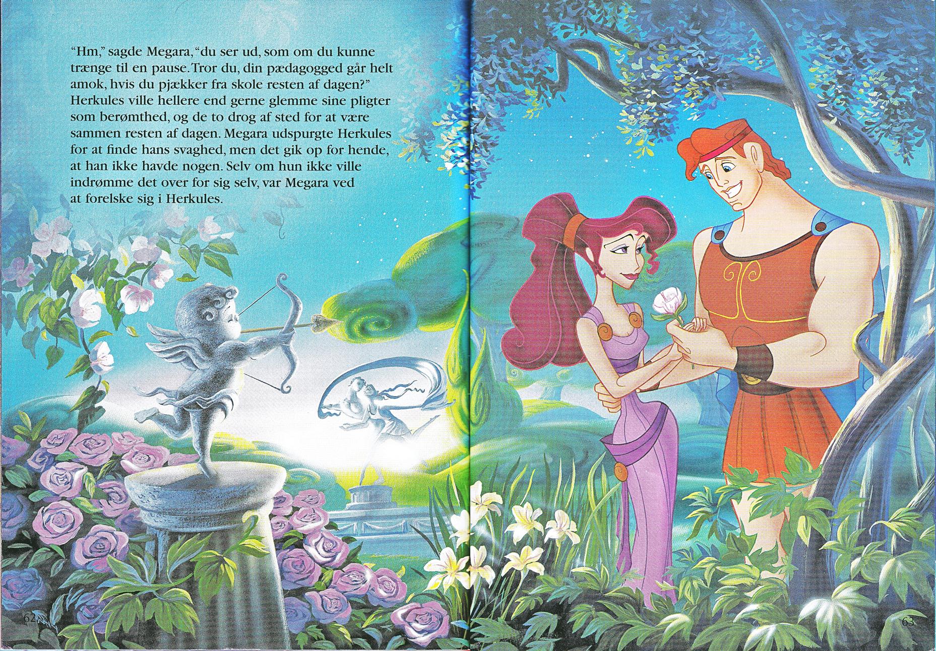 Walt डिज़्नी Book तस्वीरें - Megara & Hercules