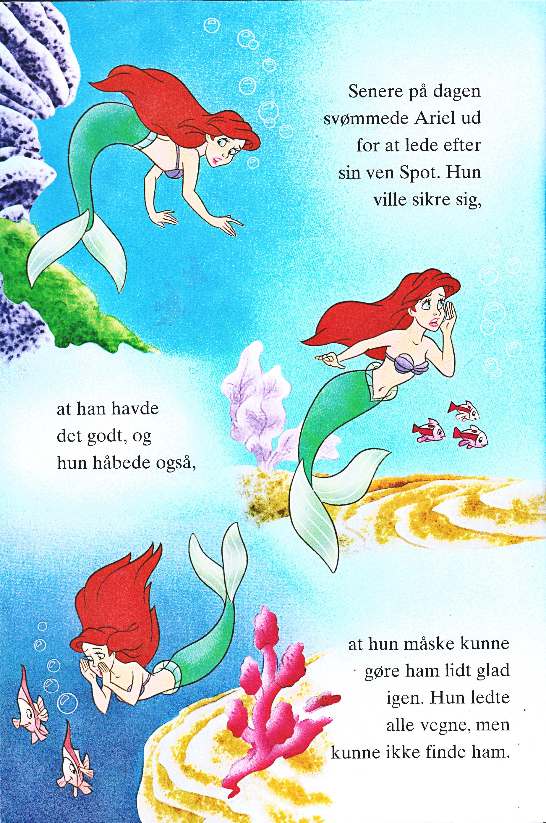 Walt Disney Book Images - Princess Ariel