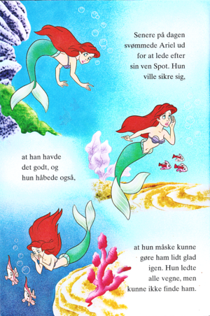 Walt disney Book gambar - Princess Ariel
