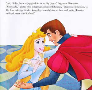Walt Disney Book picha - Princess Aurora & Prince Phillip