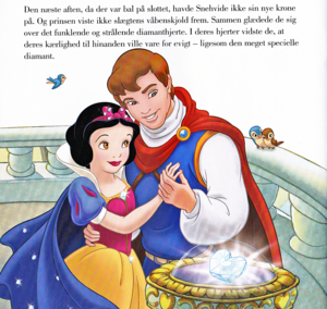 Walt disney Book imágenes - Princess Snow White & The Prince