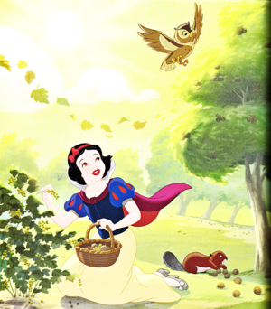 Walt disney Book gambar - Princess Snow White