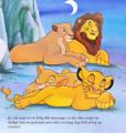 Walt Disney Book Images - Sarabi, Mufasa, Nala & Simba