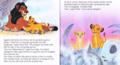 Walt Disney Book Images - Scar, Simba & Nala