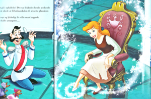 Walt disney Book gambar - The Grand Duke & Princess cinderella