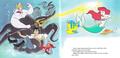 Walt Disney Book Images - Ursula, Flotsam, Jetsam, Prince Eric, Sebastian, Flounder & Princess Ariel