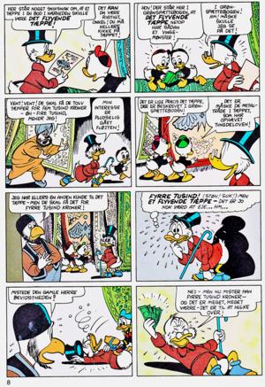 Walt Disney Comics - Scrooge McDuck: Rug Riders In The Sky (Danish Edition)