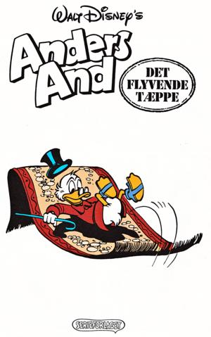 Walt 디즈니 Comics - Scrooge McDuck: Rug Riders In The Sky (Danish Edition)