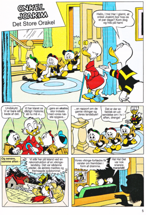Walt Disney Comics - Scrooge McDuck: The Great Oracle (Danish Edition)