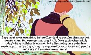 Walt Disney Confessions - Classic Couples.