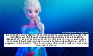 Walt Disney Confessions - Queen Elsa