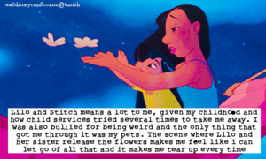 Walt Disney Confessions - Lilo and Nani.