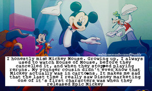 Walt Дисней Confessions - Mickey Mouse.
