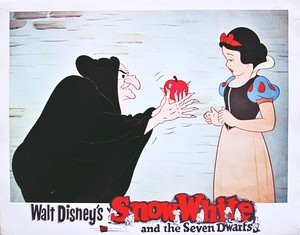 Walt disney Production Cels - The Witch & Princess Snow White