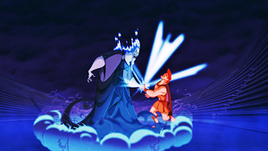 Walt ディズニー Screencaps - Hades & Hercules