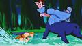 Walt Disney Screencaps - Hercules, Megara & Nessus