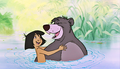 Walt डिज़्नी Screencaps - Mowgli & Baloo