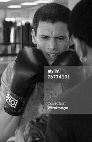 Wentworth Miller Trains at Hollywood Boxing Gym for Upcoming Role