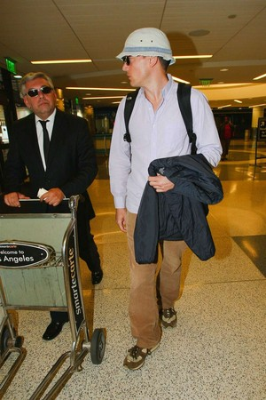 Wentworth Miller and Dominic Purcell spotted arrive together at YVR, Vancouver International Airport